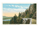 Shepperd's Dell, Columbia River, Oregon Posters