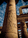 Great Hypostyle Hall at Karnak Temple, Egypt Photographic Print by Clive Nolan
