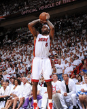 Dallas Mavericks v Miami Heat - Game One, Miami, FL - MAY 31: LeBron James Photographic Print by Andrew Bernstein