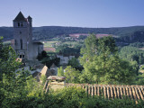 St.Cirq Lapoppie, Lot Valley, France Photographic Print by Peter Adams