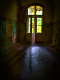 Dark French Doors Photographic Print by Nathan Wright