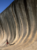 Wave Rock, Hyden, Western Australia, Australia Photographic Print by Steve Vidler