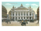 Paris Opera House Poster