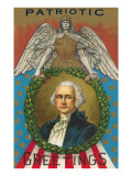 Patriotic Greetings, Washington Posters