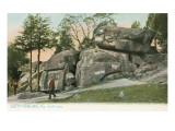 Devils' Den, Gettysburg, Pennsylvania Poster