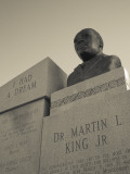 USA, Alabama, Selma, Civil Rights Struggle Site, Bust of Rev. Martin Luther King, Jr. Photographic Print by Walter Bibikow