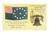 First Flag, Liberty Bell Print