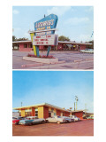 Ludwig's Drive-In, Roadside Retro Posters