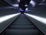 Modern Escalator Photographic Print by Nathan Wright