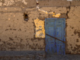 Blue Door, Luxor Town, Egypt Photographic Print by Clive Nolan