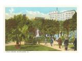 Public Square, Wilkes-Barre, Pennsylvania Prints