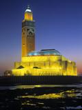 Hassan Ii Mosque, Casablanca, Morocco Photographic Print by Gavin Hellier