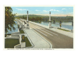 New Market Street Bridge, Harrisburg, Pennsylvania Posters