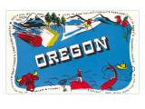 Oregon Promotion Prints