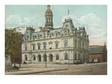 Post Office, Scranton, Philadelphia, Pennsylvania Print