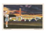 Katson's Drive-In, Roadside Retro Prints