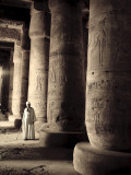 Egypt, Abydos, Temple of Seti I Photographic Print by Michele Falzone