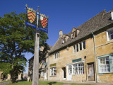 England, Gloustershire, Cotswolds, Chipping Campden, Heraldic Town Sign Photographic Print by Steve Vidler