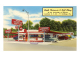 Boots Drive-In, Roadside Retro Print