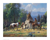 Empty Lodge Art by Martin Grelle
