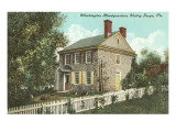 Washington Headquarters, Valley Forge, Pennsylvania Posters