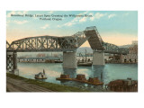 Broadway Bridge, Portland, Oregon Print