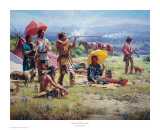 Parasols & Black Powder Prints by Martin Grelle