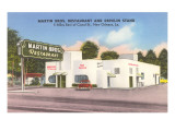 Martin Brothers' Drive-In, Roadside Retro Prints