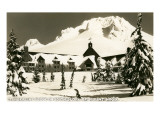 Timberline Lodge, Mt. Hood, Oregon Kunstdruck