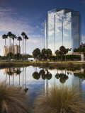 USA, Florida, Sarasota, Skyline and One Sarasota Tower Building Photographic Print by Walter Bibikow