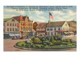 Square at Gettysburg, Pennsylvania Prints