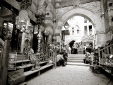 Egypt, Cairo, Islamic Quarter, Khan El Khalili Bazaar Photographic Print by Michele Falzone