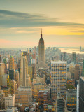 USA, New York, Manhattan, Midtown from Top of the Rock at the Rockefeller Center Photographic Print by Alan Copson