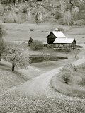 USA, New England, Vermont, Woodstock, Sleepy Hollow Farm Photographic Print by Michele Falzone