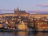 Little Quarter and St Vitus Cathedral, Prague, Czech Republic Photographic Print by Jon Arnold
