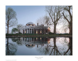 Jefferson&#39;s Monticello Poster by Rod Chase