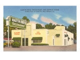 Martin Brothers' Drive-In, Roadside Retro Posters