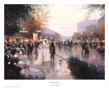 Cafe Madeleine Prints by Christa Kieffer