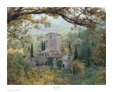 Hills of Chianti Poster by Rod Chase