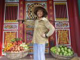 Vietnam, Hoi An, Fruit Vendor Photographic Print by Steve Vidler