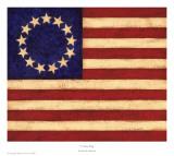 13 Star Flag Prints by Patrick DeSantis