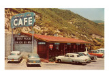 Malibu Inn Cafe, Roadside Retro Prints