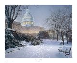 Evening on the Hill Prints by Rod Chase