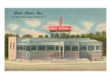 Point Diner, Somers Point, New Jersey Print