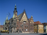 Town Hall, Wroclaw, Poland Photographic Print by Steve Vidler