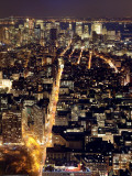 USA, New York City, Manhattan, Elevated View of Mid-Town Manhattan Photographic Print by Gavin Hellier