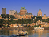 Chateau Frontenac, Quebec City, Quebec, Canada Photographic Print by Walter Bibikow