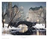 Twilight In Central Park Kunstdrucke von Rod Chase