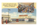 Wheeler's Drive-In, Roadside Retro Prints