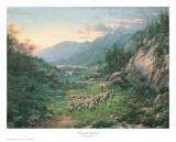 The Good Shepherd Kunst van Larry Dyke